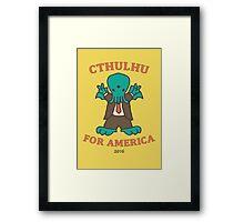 Cthulhu for America 2016 Framed Print