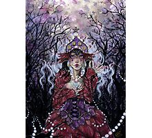 Tipsy Tarot - Four of Pentacles Photographic Print