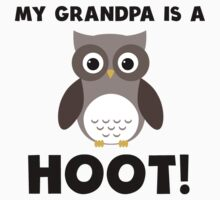 My Grandpa Is A Hoot! Kids Clothes