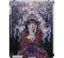 Tipsy Tarot - Four of Pentacles iPad Case/Skin