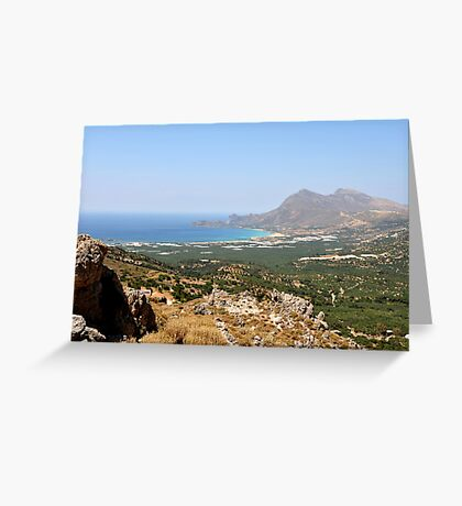 Crete Greeting Card