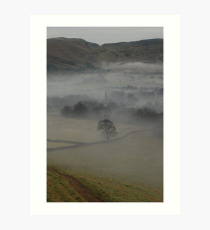 Misty Spire Art Print