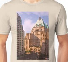 Vancouver Downtown Skyline 3 Unisex T-Shirt