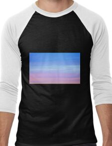Afterglow in pastel colours Men's Baseball ¾ T-Shirt