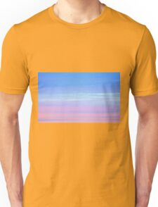 Afterglow in pastel colours Unisex T-Shirt