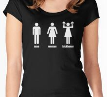 Kickboxer Women's Fitted Scoop T-Shirt