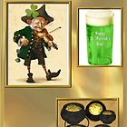Green Beer & Gold by janewiebenga
