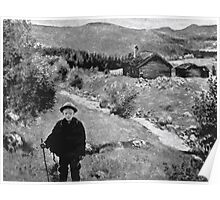 Theodor Kittelsen Farvel da mor farewell mother Poster