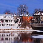 Almonte Townscape by Josef Pittner