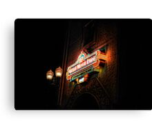 The Great Movie Ride at Disney Florida Canvas Print