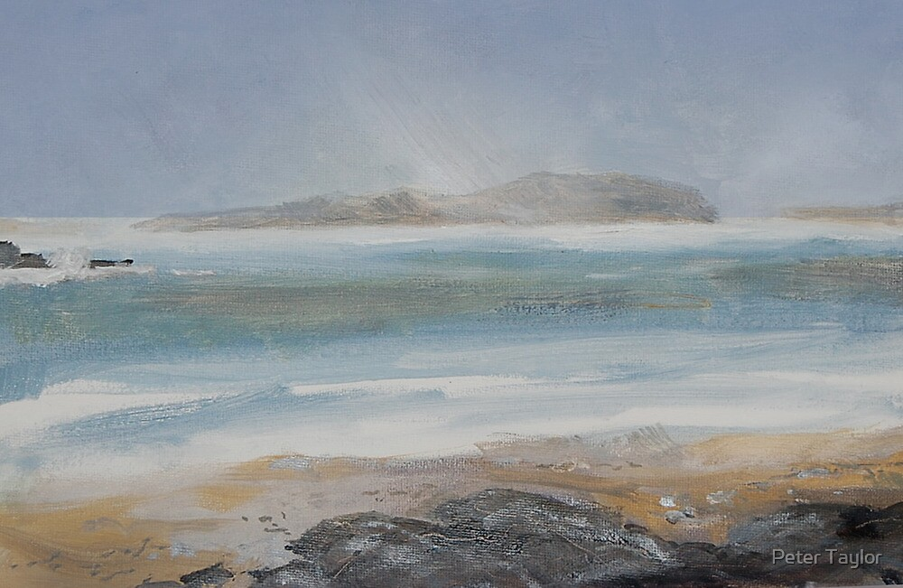 Storm over Little Cumbrae by Peter Lusby Taylor