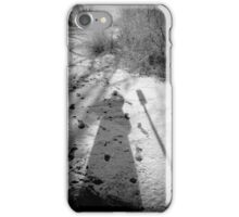 Only The Shadow Knows......and my hair dresser ! iPhone Case/Skin