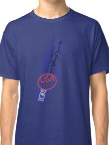 usa california tshirt by rogers bros Classic T-Shirt
