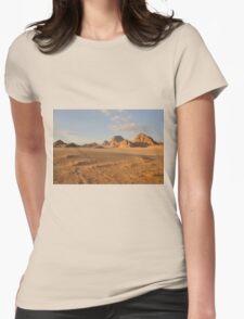 Desert landscape Womens Fitted T-Shirt