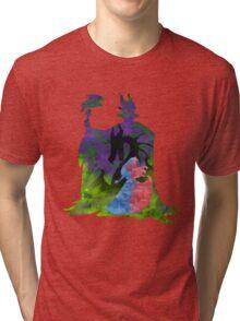 Once Upon a Dream - Splash Dress Tri-blend T-Shirt