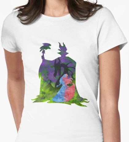 Once Upon a Dream - Splash Dress Womens Fitted T-Shirt