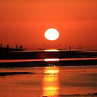 Sanibel Island sunrise by kathy s gillentine