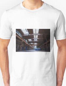 Dark side of the VW bus Unisex T-Shirt