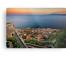 The magic of Monemvasia Metal Print