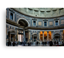 The Pantheon of Rome Canvas Print