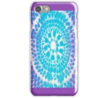 Fish Scale Mandala (spray paint) iPhone Case/Skin