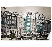 Nyhavn - Copenhagen Poster