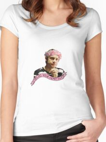 John Watson - Blog your heart out Women's Fitted Scoop T-Shirt