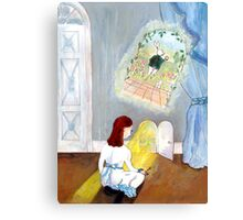 """Alice's Adventures in Wonderland"" Lewis Carroll Canvas Print"