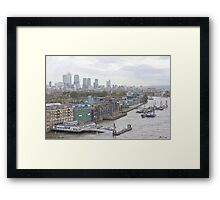 LONDON_View 113 Framed Print