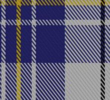 00496 MacPherson Dress Blue (Dance) Clan/Family Tartan Sticker