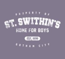St. Swithin's Home for Boys (worn look) Kids Tee