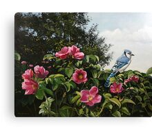 """Summer Blossoms"" Canvas Print"