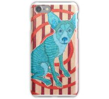 Blue Dog iPhone Case/Skin