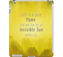 Delicate Soul Flames iPad Case/Skin