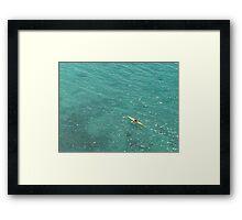 Tiffany Sea Framed Print