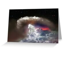 Sky Run Greeting Card