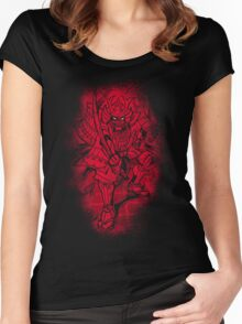 Red Warrior Women's Fitted Scoop T-Shirt