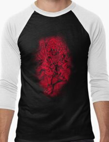 Red Warrior Men's Baseball ¾ T-Shirt