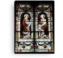 Trinity Church Window I Canvas Print