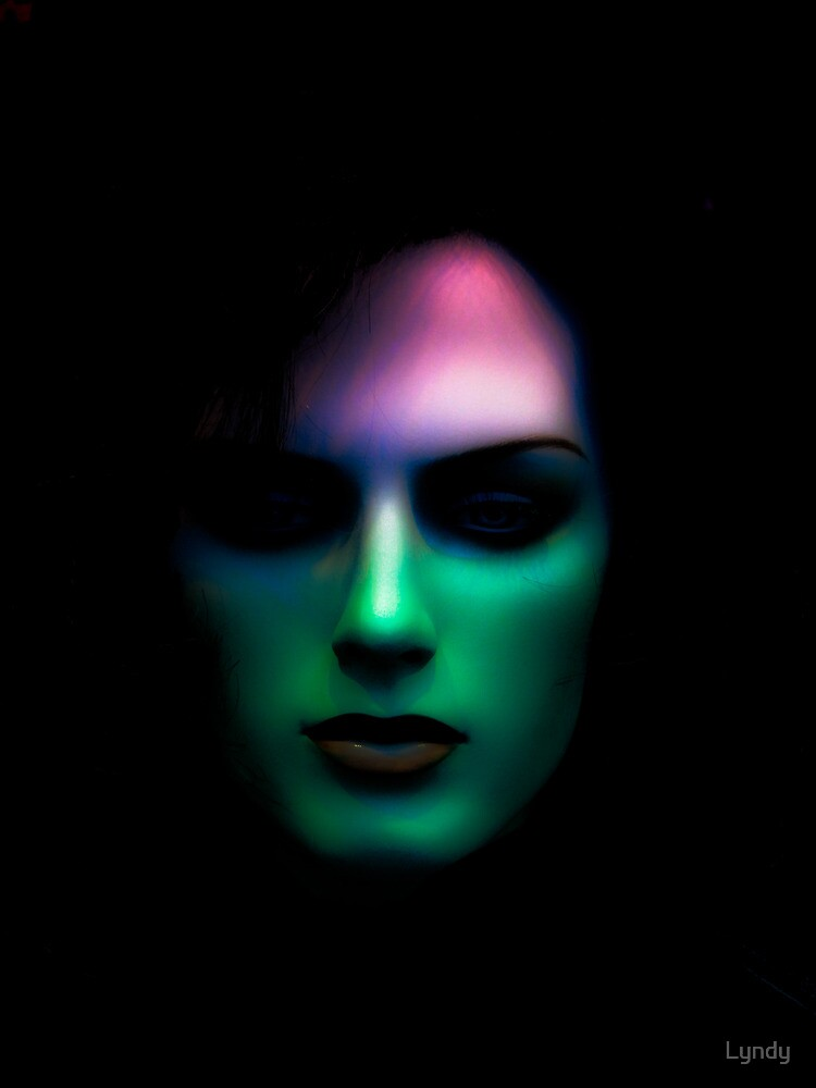 Colour of face by Lyndy