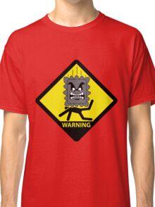 Crushing Hazard sign Classic T-Shirt