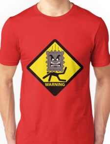 Crushing Hazard sign T-Shirt