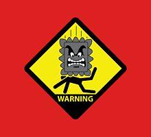 Crushing Hazard sign Unisex T-Shirt