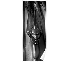 Pontiac Indian hood ornament Poster