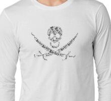 Hacker accesories Long Sleeve T-Shirt