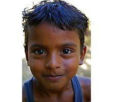 I Am a Boy Photographic Print