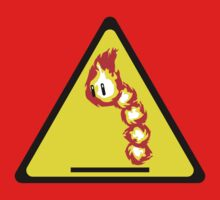 Fire Snake Hazard Kids Clothes