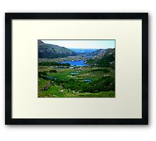 Ladies View - Ring of Kerry Framed Print
