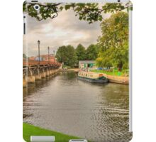 Summertime At The Riverside iPad Case/Skin