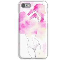 Undress yourself Pink Lady iPhone Case/Skin